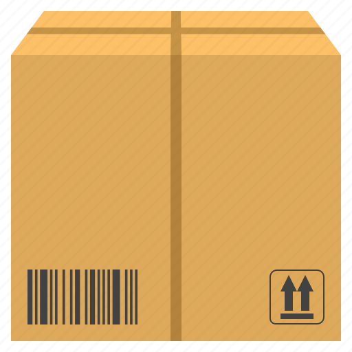barcode, box, cargo, delivery, parcel, shipping icon