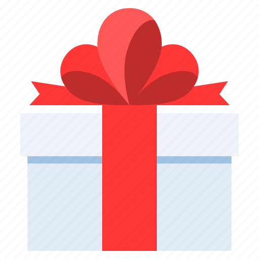 Birthday Christmas Delivery Gift Box New Year Present Icon