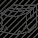 box, broken, delivery, package, parcel