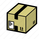amazon, box, delivery, ecommerce, online, package, shipping icon