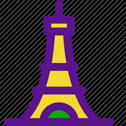 eiffel, france, tower icon