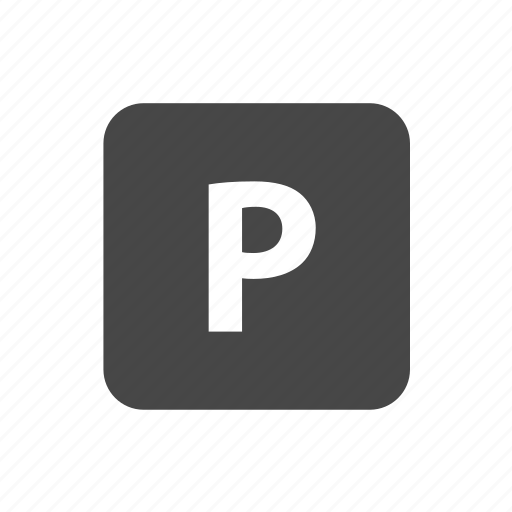 area, parking, parking area, zone icon