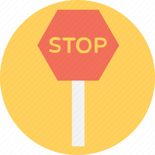 ban, disallowance, no entry, prohibition, stop sign icon