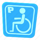 accessibility, cartoon, chair, human, invalid, invalid parking, medical icon