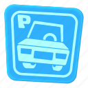 area, car, car parking, cartoon, park, street, traffic icon