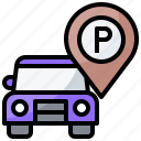 location, parking, placeholder, signaling, transportation