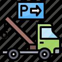 breakdown, car, tow, truck
