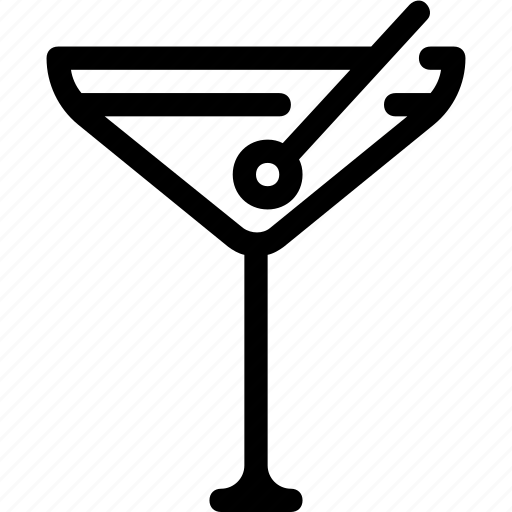 alcohol, bar, club, cocktail, martini, party icon