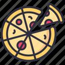 food, italian, meal, pizza