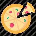 food, italian, pizza, slice