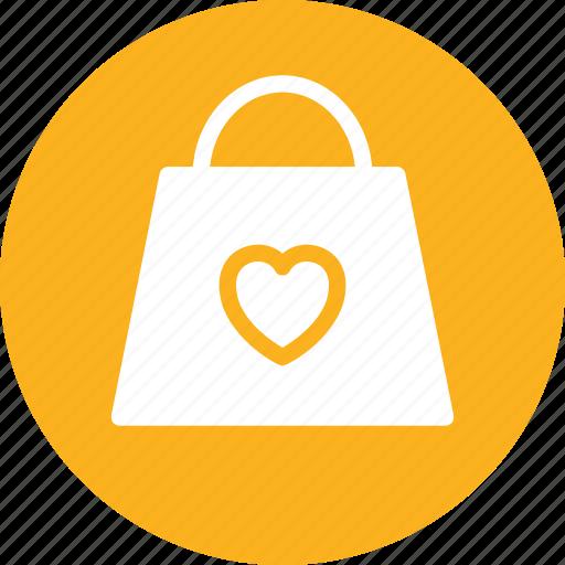 bag, birthday, celebration, gift, love icon