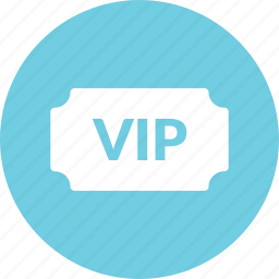 freind, invitation, invite, ticket, vip icon