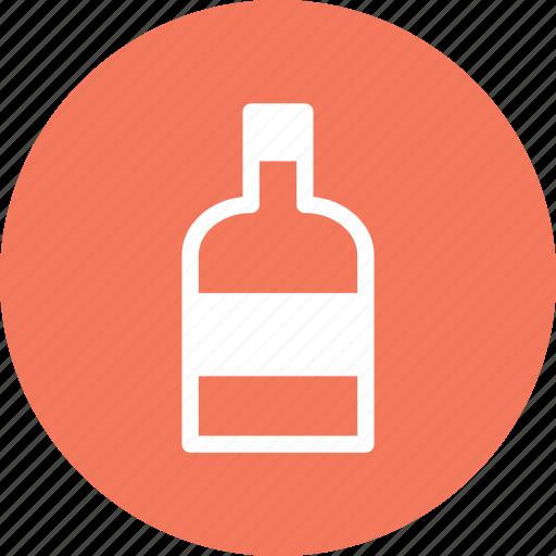 bottle, vodka, whisky, wine icon
