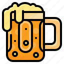 alcohol, alcoholic, beer, drinks, food icon