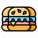 burger, fast, food, hamburger, junk, sandwich