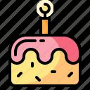 bakery, birthday, cake, food icon