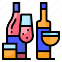 alcohot, drinks, party, water icon