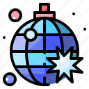 ball, disco, mirror, party icon