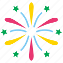 anniversary, celebration, event, festival, firework, holiday, party icon