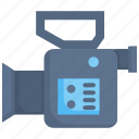 camcorder, camera, equipment, media, record, video icon