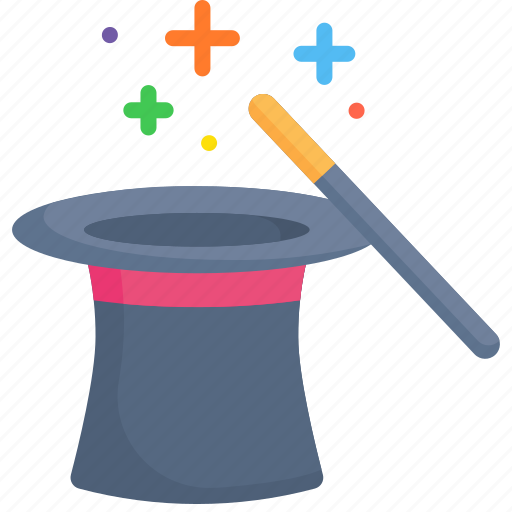 Entertainment, hat, magic, magician, show, trick icon - Download on Iconfinder