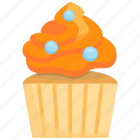 birthday, cake, cup, cupcake, dessert, food, sweet icon