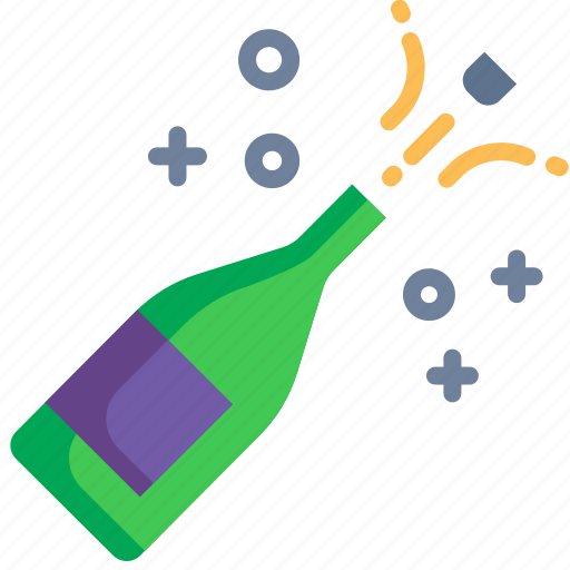 Alcohol, celebration, champagne, drink, party, sparkling, wine icon - Download on Iconfinder
