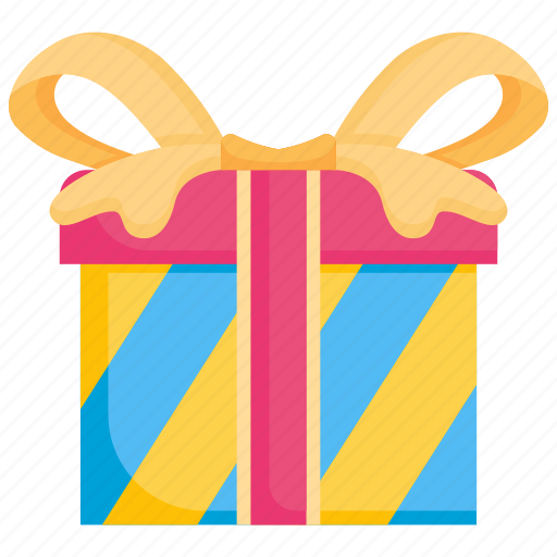 birthday, box, celebration, gift, present, ribbon, surprise icon