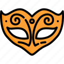 carnival, costume, fancy, mask, masquerade, party icon
