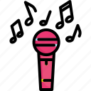 audio, entertainment, karaoke, mic, microphone, music, sound icon