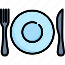 celebration, dinner, food, meal, party, plate, restaurant icon