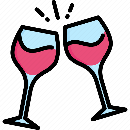alcohol, beverage, celebration, drink, glass, restaurant, wine icon