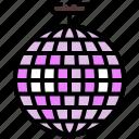 ball, dance, disco, party