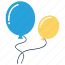 air, balloon, celebration, decoration, party icon