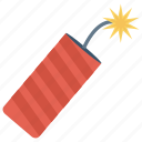 celebration, danger, explosion, fireworks, party icon