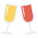 beer, celebration, champagne, party, wine icon