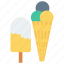 cone, icecream, lolly, poppy, sweet icon