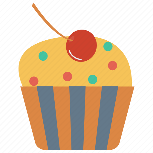 Bakery, cupcake, dessert, muffin, sweet icon - Download on Iconfinder