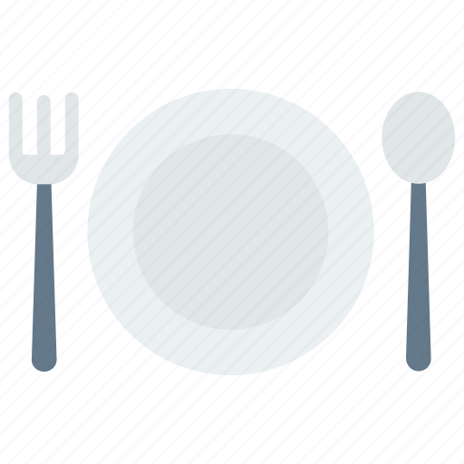 dish, food, hotel, resturant, spoon icon