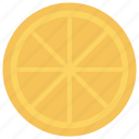 citrus, food, lemon, lime, slice icon