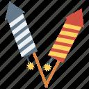 celebration, firework, party, petard, rocket icon