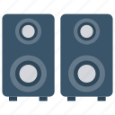 audio, music, sound, speaker, woofer icon