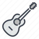 guitar, music, play icon