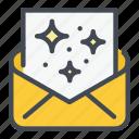 invitation, letter, mail icon