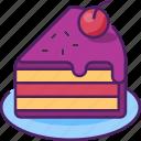 food, bakery, birthday, sweet, cake, dessert, delicious icon