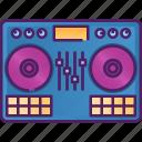 dj, disc, disco, party, music, turntable, sound