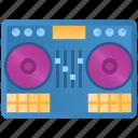 disco, sound, dj, music, turntable, party, disc