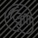 club, dance, dj, music, party, vinyl icon