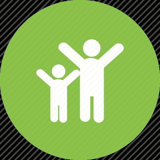 Celebrating, celebration, friends, group, happy, large, people icon - Download on Iconfinder