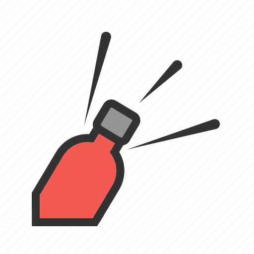 bottle, drink, equipment, metal, opener, tool, white icon